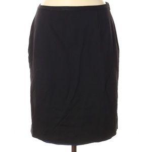Elie Tahari Black Pencil Skirt